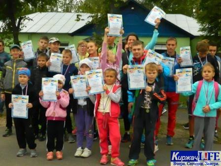Юные победители соревнований