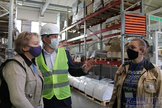 Илья Букалов посетил завод «ИЗТТ»