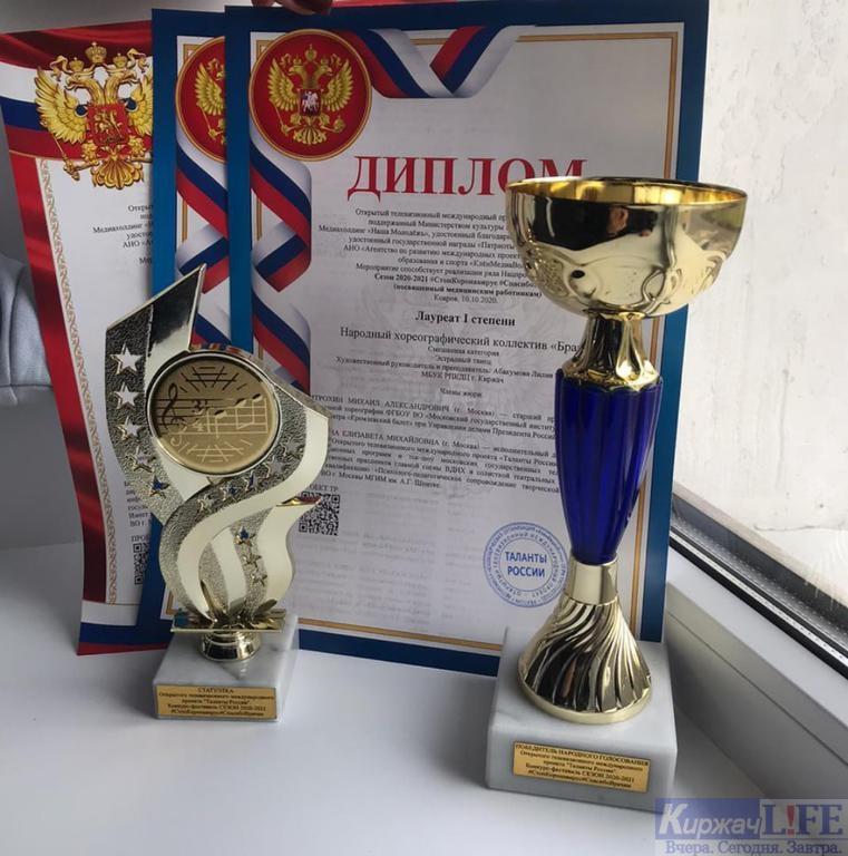Народный хореографический коллектив «Браво» отлично выступил на Международном конкурсе-фестивале «Таланты России»