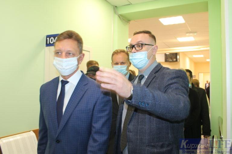 В Киржаче торжественно открыли отремонтированную городскую поликлинику № 2
