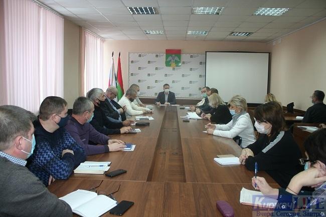 В администрации района обсудили план действий в условиях надвигающихся морозов