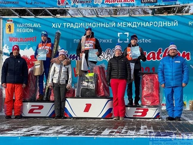 Лыжники  КРОО «Спортивный клуб имени Михаила Серегина» приняли участие в Деминском лыжном марафоне