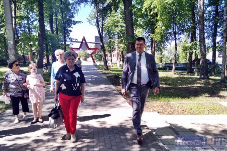 Киржачане проголосовали за благоустройство Сквера им. Ленина