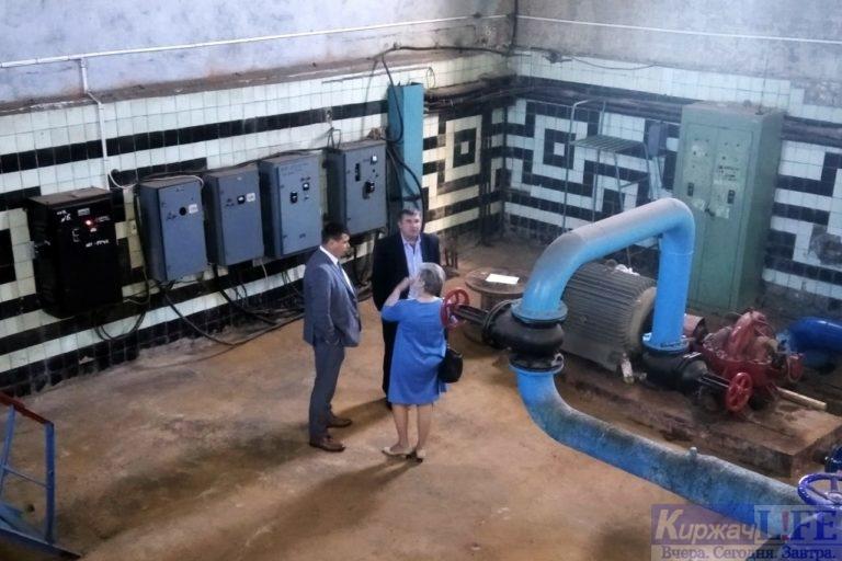 Заместитель Губернатора Роман Годунин проверил ход реализации нацпроекта «Жильё и городская среда» в Киржаче